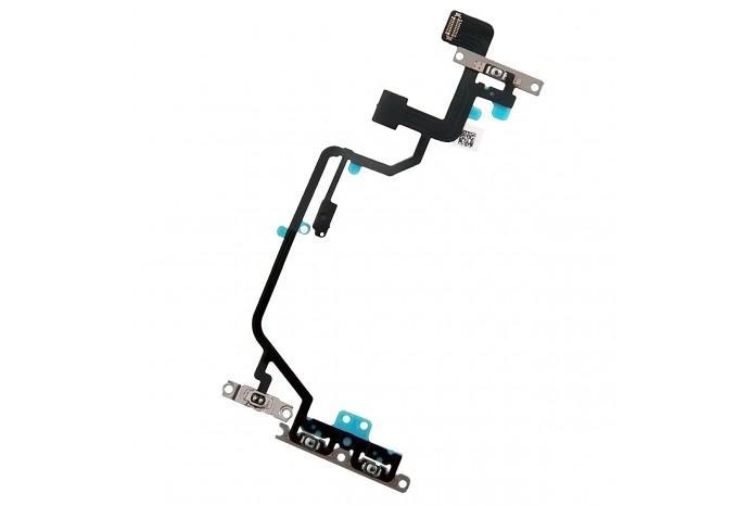 Шлейф кнопки Power, вспышки, громкости и микрофона для iPhone XR