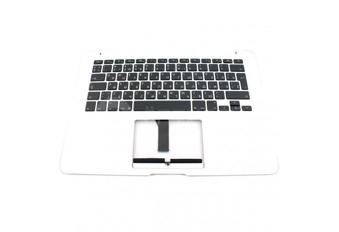 """Топкейс с клавиатурой и подсветкой RUS Macbook Air 13"""" A1466 2012 - 2017 Маленький Enter"""
