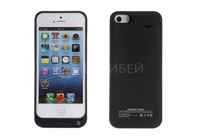 Чехол аккумулятор зарядка 6800mAh для iPhone 5, 5C, 5S
