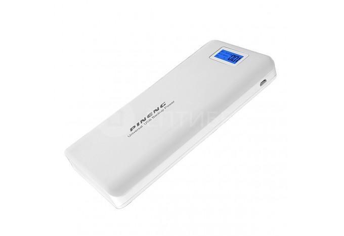 Внешний аккумулятор для iPhone, iPod, iPad 20000 mAh, 5V, 2.1A белый