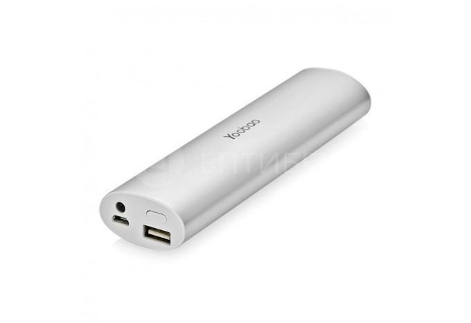 Внешний аккумулятор для iPhone, iPad Yoobao 10400 mAh серебристый