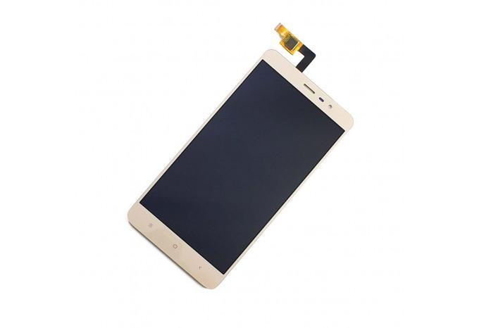 Дисплей в сборе для Xiaomi Redmi Note 3 золотой