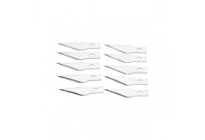Комплект из 10 сменных лезвий для скальпеля Proskit, 508-394A-B