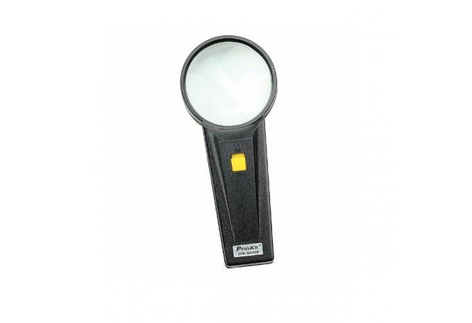 Ручная лупа с подсветкой Proskit для мелких работ, 8PK-MA006