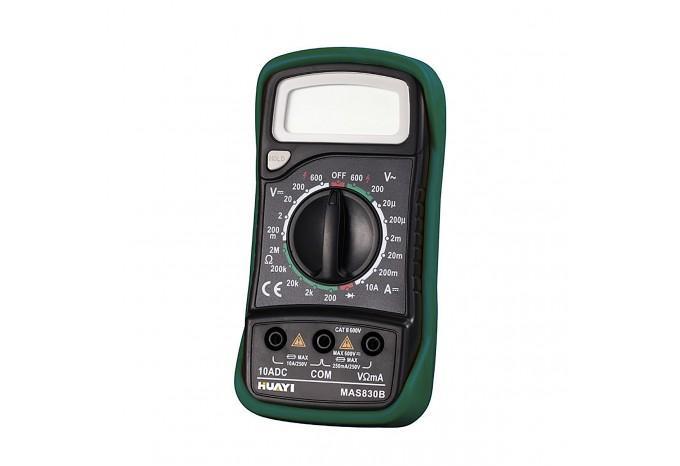Профессиональный цифровой мультиметр MasTech с щупами, MAS830B