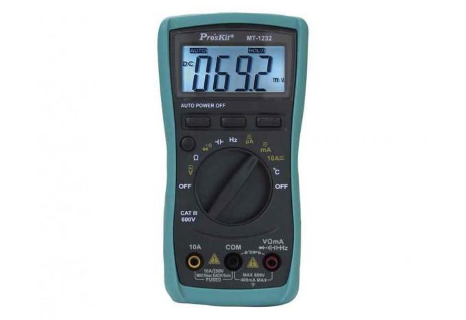 Мультиметр компактный цифровой Proskit, MT-1232