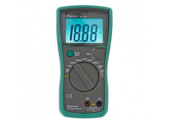 Измеритель емкости цифровой Proskit, MT-5110