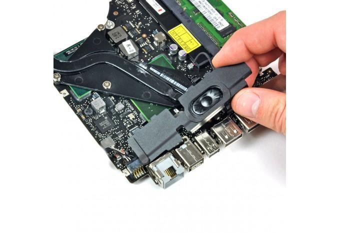 С установкой в MacBook (стоимость установки динамика)