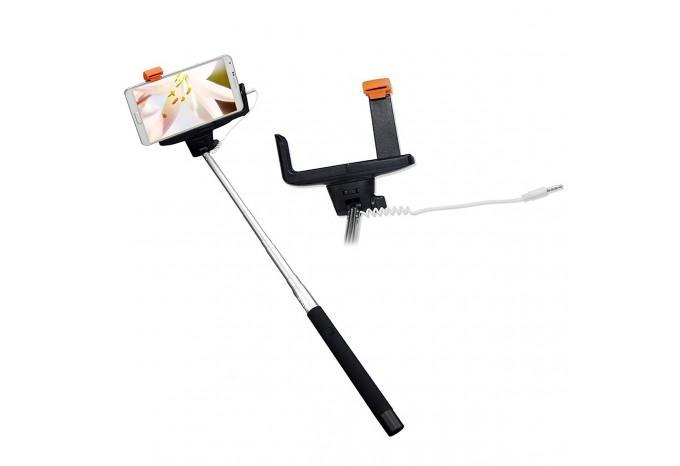 Selfie / селфи палка монопод Monopod проводная для iPhone