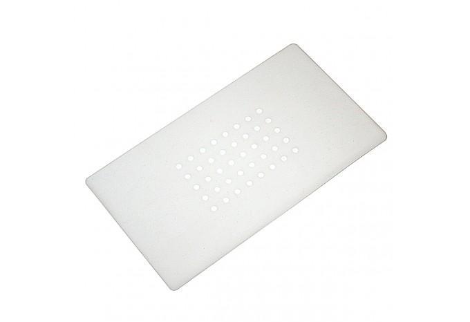 Запасная силиконовая термопрокладка 18x10,5 см на сепаратор