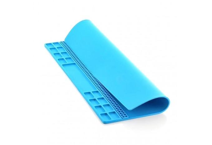Силиконовый термостойкий антистатический коврик Sunshine SS-004A с ячейками для винтов