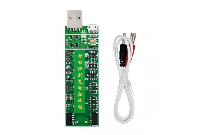 Плата W222 для заряда и активации аккумуляторов iPhone/Samsung/Xiaomi/Meizu