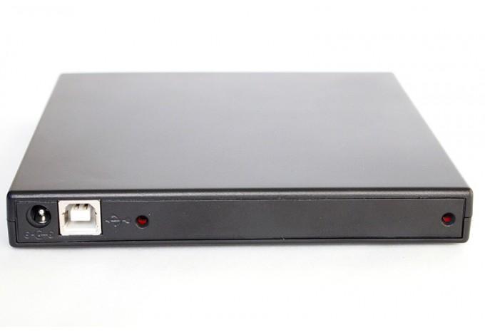 USB корпус для DVD привода универсальный 12,5mm SATA